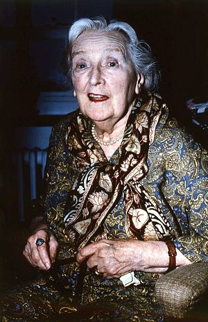 Sybil Thorndike - Portrait by Allan Warren, 1973