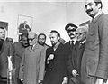 Dariush Forouhar Yadollah Sahabi Hashem Sabaghian Mehdi Bazargan.jpg