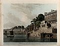 Dasasamadhi Ghat on the Ganges at Varanasi, Uttar Pradesh. C Wellcome V0050475.jpg