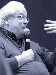 Thomson speaking in New York, 2013