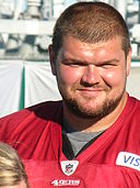 David Baas at 49ers training camp 2010-08-11 2.JPG