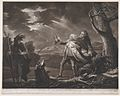 David Garrick as King Lear (Shakespeare, King Lear, Act 3, Scene 1) MET DP859436.jpg