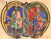David I and Malcolm IV.jpg
