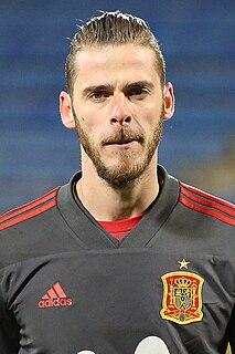 David de Gea Spanish association football player