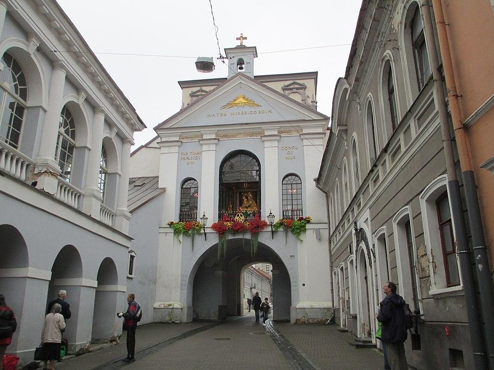 Dawn Gate in Vilnius, inside