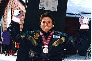 Australia at the 1994 Winter Paralympics - Australian medalist Michael Norton at the 1994 Lillehammer Winter Games
