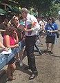 De Blasio at Queens Pride Parade (8927849000).jpg