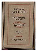 De Gesammelte Werke III (Schnitzler) 001.jpg