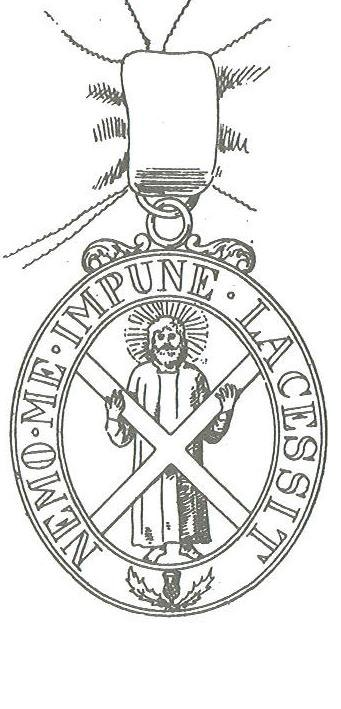 De Heilige Andreas en het andreaskruis