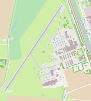 De Kooy Airfield - Open Street Map of the airfield.