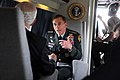 Defense.gov News Photo 100521-D-7203C-022 - Commander of U.S. Central Command Gen. David Petraeus U.S. Army speaks with Secretary of Defense Robert M. Gates aboard a U.S. Marine Corps.jpg