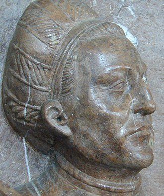Ampfing - Image: Degenhart Pfäffinger, Kopf 2