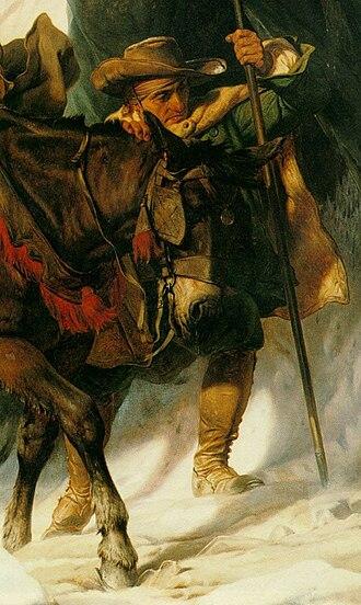 Bonaparte Crossing the Alps - Image: Delaroche Bonaparte
