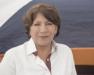 Delfina Gómez Álvarez - Image: Delfina Gómez
