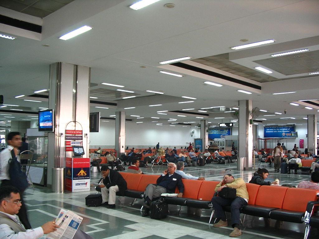 Delhi Airport Terminal D Food Court