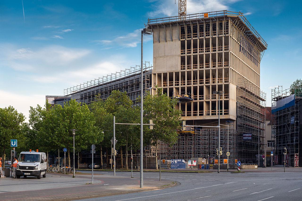 Building Construction Site : File deloitte office building construction site