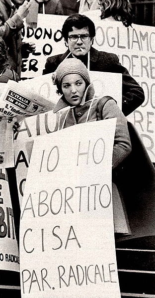 File:Demonstration for abortion rights in Milan, 1975.jpg