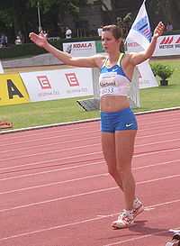 Denisa Scerbova at TNT Fortuna Meeting in Kladno 19June2008.jpg
