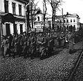 Departure soldiers for the front. Bolshaya Pokrovskaya st.jpg