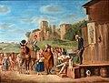 Der Quacksalber, Gemälde um 1800, D2055.jpg