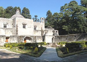 Cuajimalpa - Chapel of the former monastery