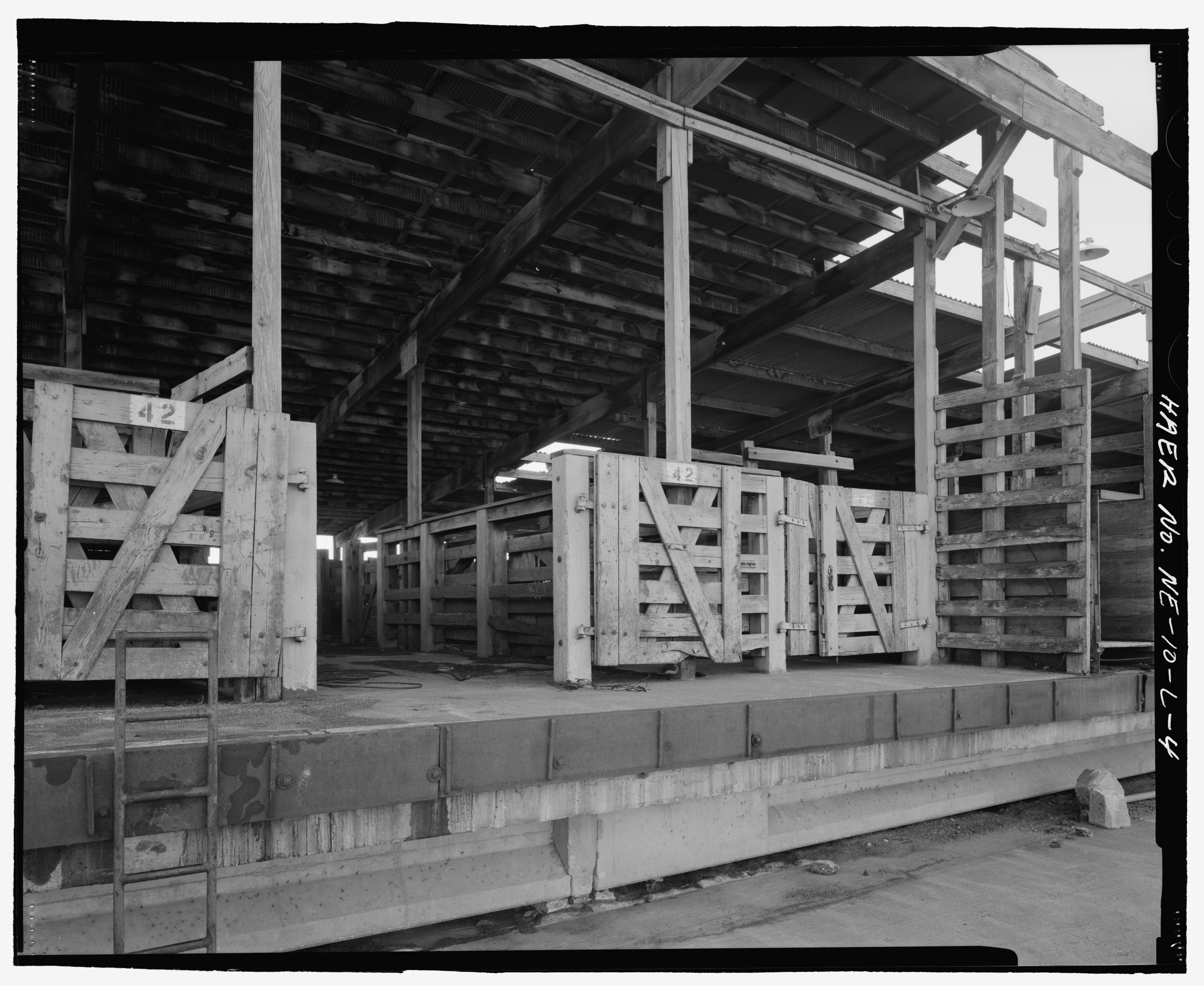 File Detail Of Unloading Chute View To Southeast South