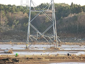 English: Devastation in Minamisōma, Fukushima ...