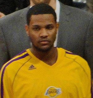 Devin Ebanks - Ebanks with the Los Angeles Lakers in 2013