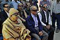 Dignitaries Watch Third Dimension Show - Beyond Maya Gallery - Swami Akhandananda Science Centre - Ramakrishna Mission Ashrama - Sargachi - Murshidabad 2014-11-29 0391.JPG