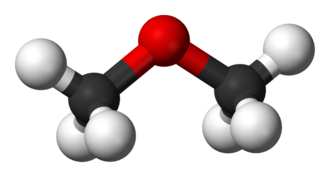 Dimethyl ether - Image: Dimethyl ether 3D balls
