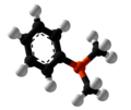 Dimethylphenylphosphine Ball and Stick.png