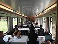 Dining car on an Austrian train from Feldkirch to Klagenfurt.jpg