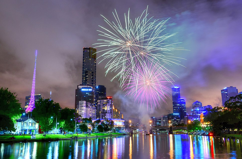 Diwali Fireworks, Melbourne Australia 2013.jpg