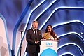 Diya Mirza and Alec Baldwin at UNEP Champions of the Earth Awards 2018 -2.jpg