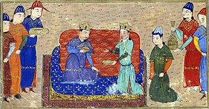 Djengiz Khân et Toghril Ong Khan