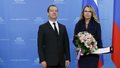 Dmitry Medvedev and Alevtina Chernikova, 21 January 2016.png