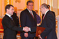 Dmitry Medvedev with Dmitry Medoyev.jpg