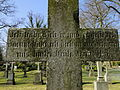 Dobbertin Klosterfriedhof Grabstein Catarina von Hammerstein Reihe 4 Platz 9 2012-03-23 228.JPG