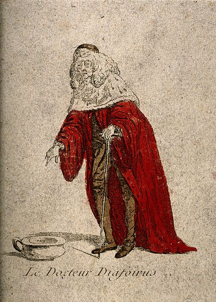 File:Doctor Diafoirus, a physician from Molière's play Le malade Wellcome V0016112.jpg
