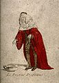 Doctor Diafoirus, a physician from Molière's play Le malade Wellcome V0016112.jpg