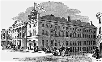 Donegana's Hotel - Donegana's in The Illustrated London News