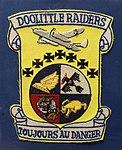 Doolittle Raiders Patch, Doolittle Raid exhibit - Oregon Air and Space Museum - Eugene, Oregon - DSC09794.jpg