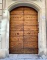 Door with doorknobs in Reggio Emilia, Italy 02.jpg