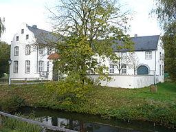 Dorenburg castle in the outdoor museum Grefrath, Germany