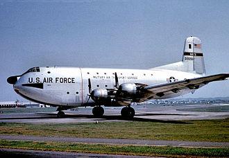 Tachikawa Airfield - MATS C-124A Globemaster II, AF Ser. No. 50-1256
