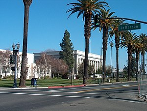 Fairfield, California - Image: Downtown Fairfield