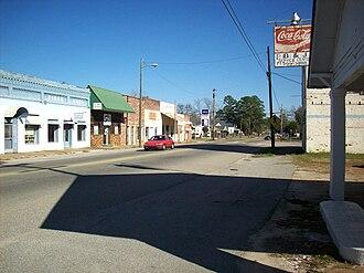 Newton, Alabama - Downtown Newton, Alabama