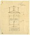 Drawing, Light Fixture and Plan of Glass Disc for Mr. Allen's Study and Mrs. Allen's Dressing Room, Henry J. Allen Residence, Wichita, Kansas, 1917 (CH 18800307-2).jpg