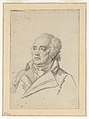 Drawing, Portrait of a Man, Giuseppe Valadier, 1825–27 (CH 18550095).jpg