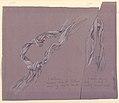 "Drawing, Studies of Drapery of ""Fortune"", ca. 1887 (CH 18404513).jpg"